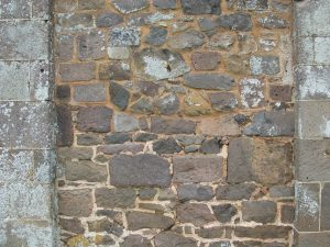 Building stones of Killerton House